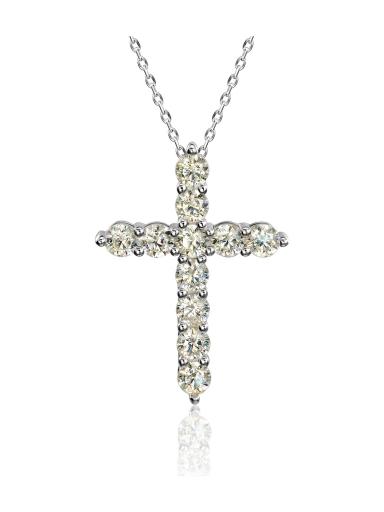 Крест 3 см классический желтый