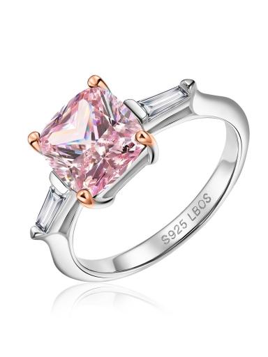 Кольцо карамель розовый